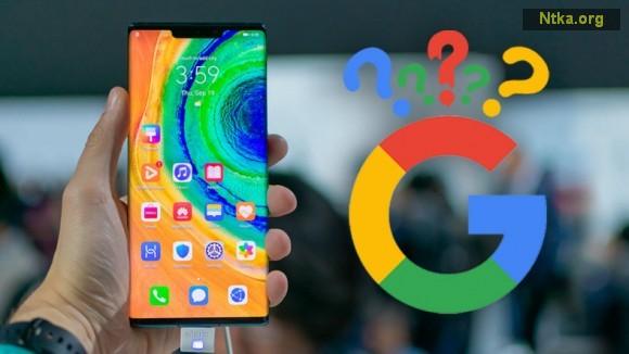 Huawei Mate 30 Pro Google programları yükleme