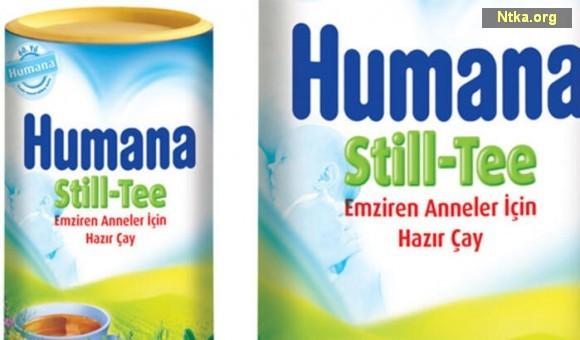 Humana Still-Tee Emziren Anneler İçin Hazır Çay