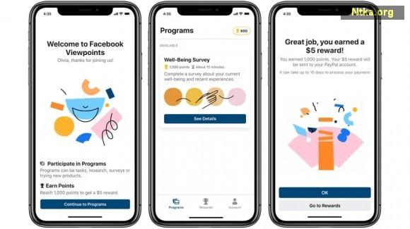 Facebook'tan Para Kazandıran Uygulama: Viewpoints