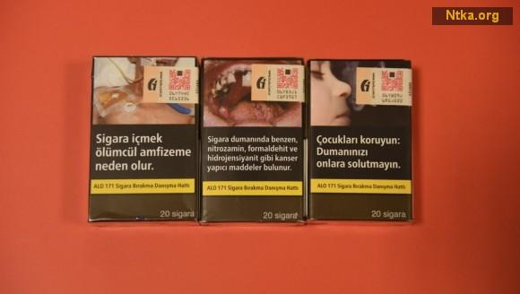 yeni sigara paketleri