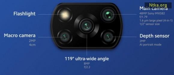 Poco X3 Pro kamera