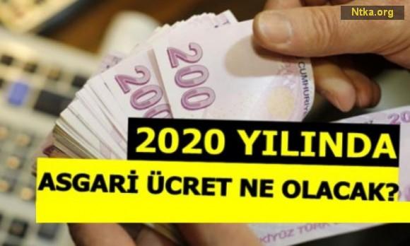 2020 yılı Asgari Ücret ne kadar oldu