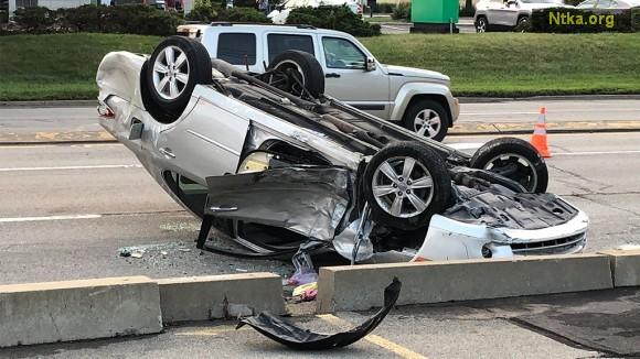 kaza yapan araç
