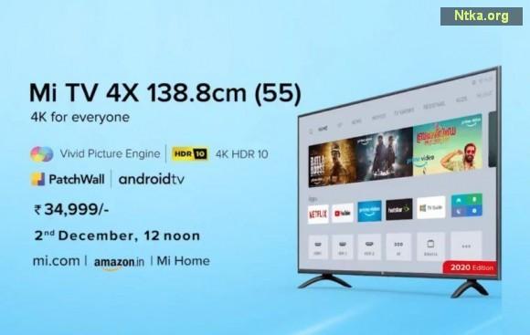 Xiaomi Mi TV 4X 2020 Edition televizyon