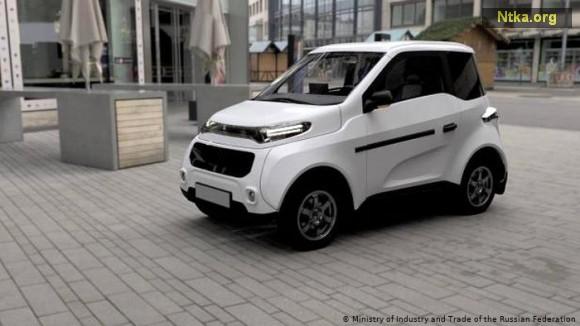 rus elektrikli otomobil