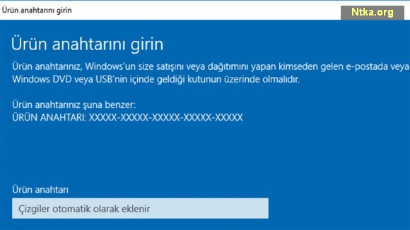 Windows 10 Key alma