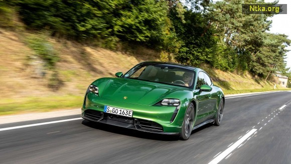 2020 Porsche Taycan, Maksimum Hız Limitinin Üstüne Çıktı (Video)