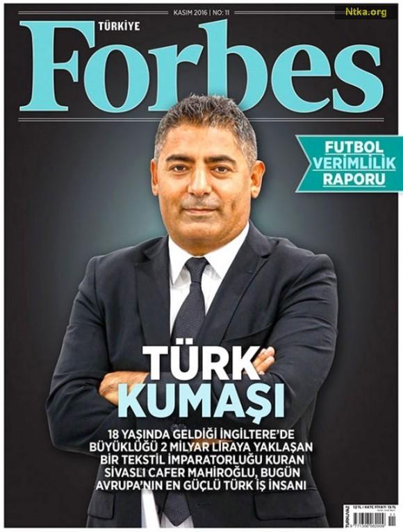 FORBES Cafer Mahiroğlu