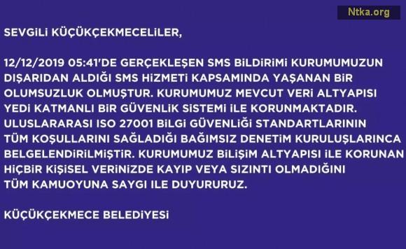 İstanbul Küçükçekmece Belediyesi hacklendi